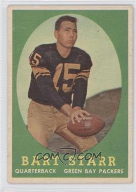1958 Topps #66 - Bart Starr