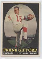 Frank Gifford [GoodtoVG‑EX]