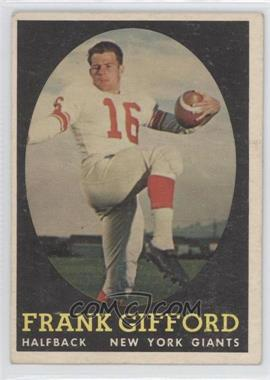 1958 Topps #73 - Frank Gifford