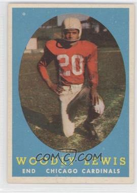 1958 Topps #82 - Woodley Lewis