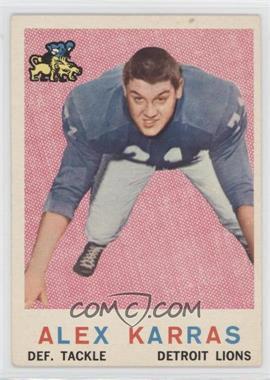 1959 Topps - [Base] #103 - Alex Karras