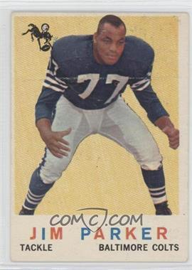 1959 Topps - [Base] #132 - Jim Parker