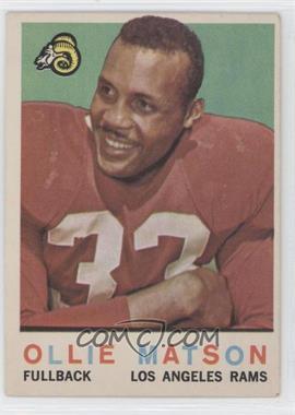 1959 Topps - [Base] #50 - Ollie Matson