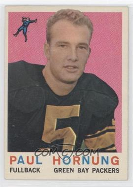 1959 Topps - [Base] #82 - Paul Hornung