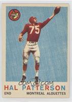 Hal Patterson