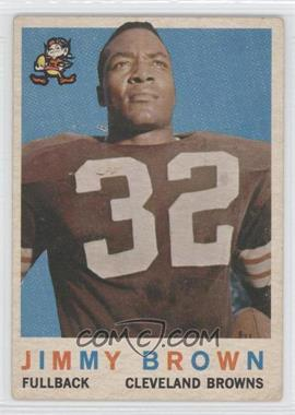 1959 Topps #10 - Jim Brown [Good to VG‑EX]
