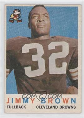 1959 Topps #10 - Jim Brown [GoodtoVG‑EX]