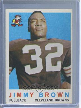1959 Topps #10 - Jimmy Brown [GoodtoVG‑EX]