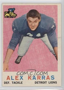 1959 Topps #103 - Alex Karras