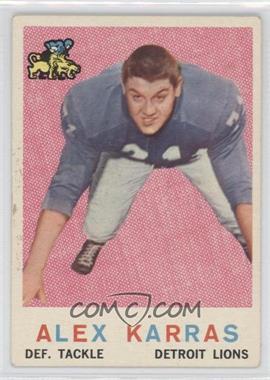 1959 Topps #103 - Alex Karras [GoodtoVG‑EX]