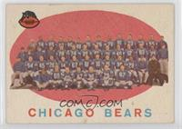 Chicago Bears Team Check List