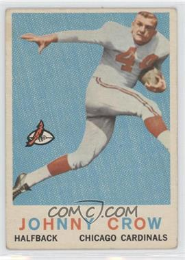 1959 Topps #105 - John David Crow