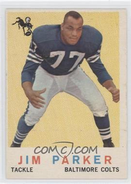 1959 Topps #132 - Jim Parker
