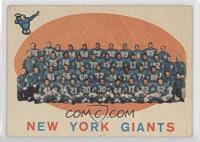 New York Giants Team [Good to VG‑EX]