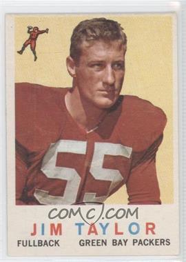 1959 Topps #155 - Jim Taylor
