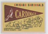 Chicago Cardinals Team