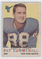 Pat Summerall [Poor to Fair]