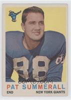 Pat Summerall [Good to VG‑EX]