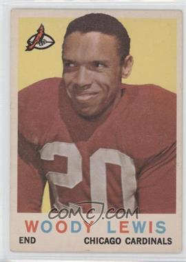 1959 Topps #45 - Woodley Lewis [Good to VG‑EX]
