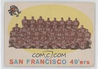 San Francisco 49ers Team [Good to VG‑EX]