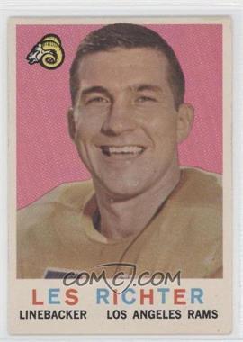 1959 Topps #84 - Les Richter