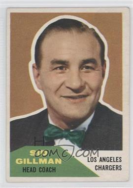 1960 Fleer - [Base] #7 - Sid Gillman