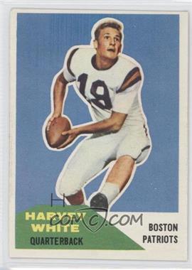 1960 Fleer #1 - Harvey White
