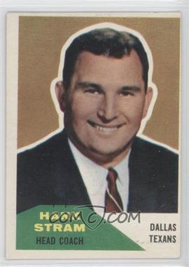 1960 Fleer #116 - Hank Stram