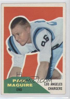 1960 Fleer #128 - Paul Maguire