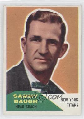 1960 Fleer #20 - Sammy Baugh