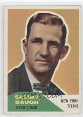 1960 Fleer #20 - Sammy Baugh [Good to VG‑EX]