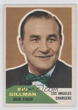 1960 Fleer #7 - Sid Gillman