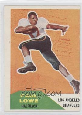 1960 Fleer #76 - Paul Lowe
