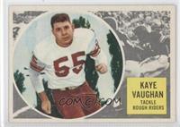 Kaye Vaughan