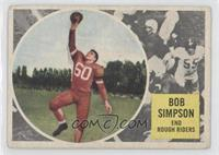 Bob Simms [Good to VG‑EX]