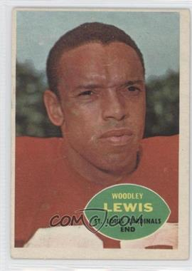 1960 Topps #107 - Woodley Lewis [Good to VG‑EX]