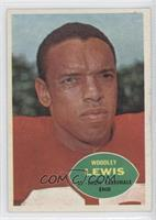 Woodley Lewis