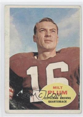 1960 Topps #22 - Milt Plum