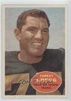 Forrest Gregg [Good to VG‑EX]