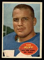 Sam Huff [NM]
