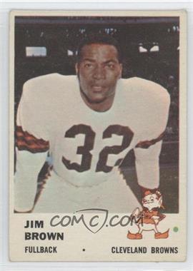 1961 Fleer - [Base] #11 - Jim Brown
