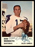 Don Meredith [VG EX]