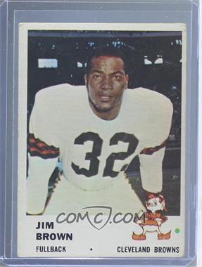 1961 Fleer #11 - Jim Brown [GoodtoVG‑EX]
