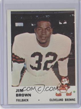 1961 Fleer #11 - Jim Brown