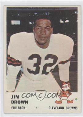 1961 Fleer #11 - Jim Brown