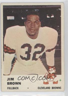 1961 Fleer #11 - Jim Brown [Good to VG‑EX]