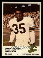 John Henry Johnson [EX MT]
