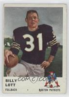 Billy Lott [Good to VG‑EX]