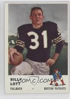 Billy Lott