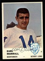 Earl Morrall [NM]
